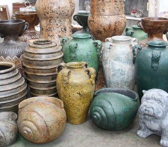 Terrace Pots and Vases
