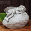 Garden Statue - Sleeping Fairy #10