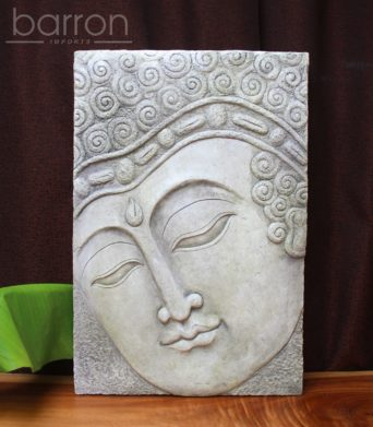 Garden Wall Plaque - Buddha