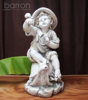Garden Statue - Boy with Snail #1