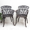 Genuine Vintage Iron Outdoor Chair