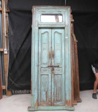 Teak Vintage Door - A.Decor 4