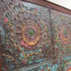 Metal Ceiling Panel from India Framed