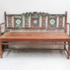 Indian Decorative Outdoor Bench Seat - A.Decor46