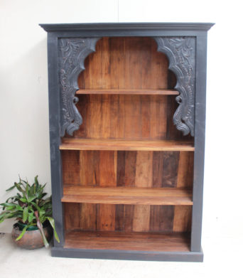 Vintage Teak Bookcase - Natural