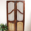 Teak Jali Gate - A.Decor 9a