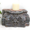 Vintage Pillar Top Candle Stand 35c