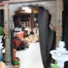Vintage Teak Arch with Stone Base -AJ24