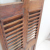 Vintage Indian Shutter with Inset Glass