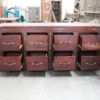 Big Boss Recycled Rosewood - 8 Drawer Cabinet