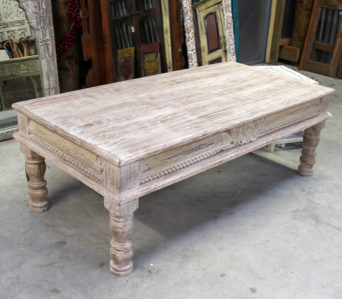 Teak Rustic Coffee Table - CH02
