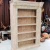 Handcrafted Bookcase - Antique White