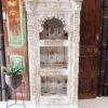 Rustic White Bookcase/ Wall Unit 2 Shelf - CH15