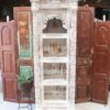 Rustic White Bookcase/ Wall Unit 3 Shelf - CH17