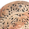 Indian Hand Carved Teak Panel - Natural 60cm