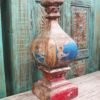 Teak Candle Stand