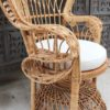 Genuine Cane Peacock Chair Large - Natural