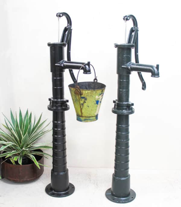 Cast Iron Water Pump - Garden With Stand - Barron Imports