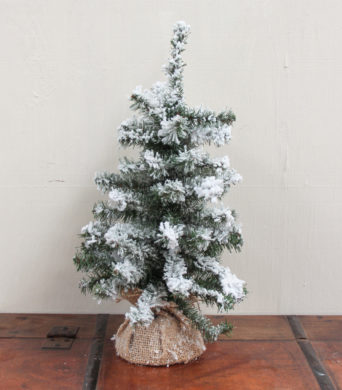 Christmas Flocked Tree - 47cm