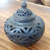 Clay Urn with Lid #3