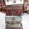 Vintage suitcases & trunks $165 - $298