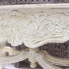 Vintage Restored Indian Console - Antique White