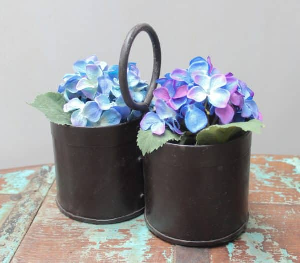 Double Iron Pot with Handle - More Stock Arriving Soon - Barron Imports