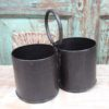 Double Iron Pot with Handle