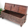 Vintage Teak Chest with Ironwork - DA60