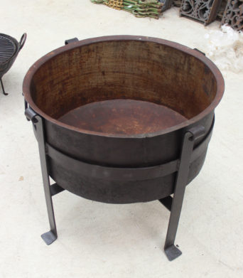 Iron Outdoor Fire Pit from India - TEMPORARILY OUT OF STOCK