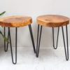 Stool - 3 Iron Legs 45cm high