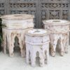 Set/3 Octagon Nesting Side Tables