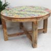 Set/5 Tiled Table and Stool Set
