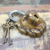Brass Padlock - Lion - OUT OF STOCK