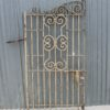 Vintage Wrought Iron Gate - JN31F