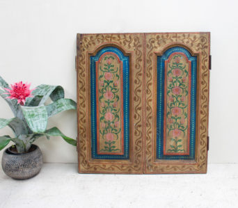 Vintage Hand Painted Shutters - JN5