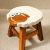 Recycled Teak Kids Stool - Sheep - SOLD OUT