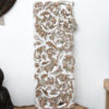 Hand Carved Wall Panel - White