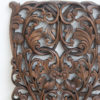 Hand Carved Wall Panel - Natural