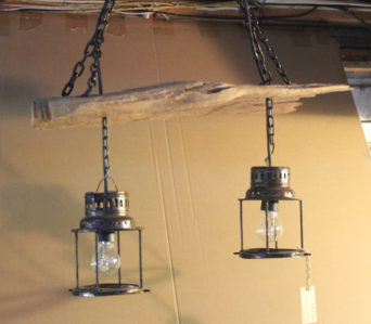Teak - 2 Hanging Light