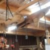 Plough Teak 4 Light