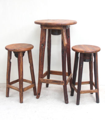 Maitai Teak Bar Stool - Temporarily Out of Stock