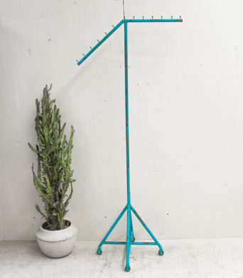 Iron Coat Stand - Blue