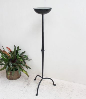 Iron Black Candle Stand