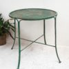 Iron Green Cafe Table
