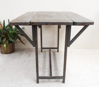 Iron Rustic Expanding Table