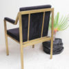 Gold Iron Upholstered Chair