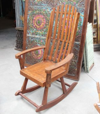 Recycled Teak Rocking Chair