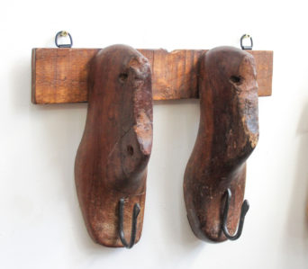 Vintage Shoe Lasts - 2 Hook