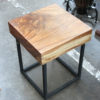 Monkeywood Stool - Cube